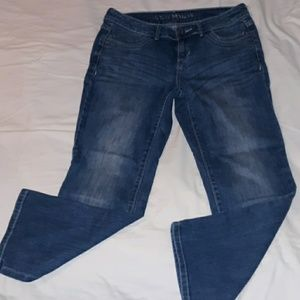 Simply Vera Wang Straight Crop Jeans Size 6
